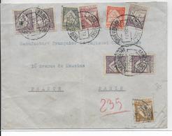 """PORTUGAL - 1933 - ENVELOPPE Avec OBLITERATION """"AMBULANCIAS"""" => PARIS - 1910-... République"""