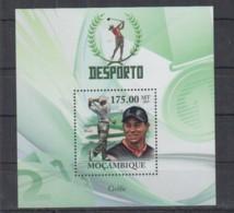U907. Mozambique - MNH - 2010 - Sport - Golf - Bl - Autres