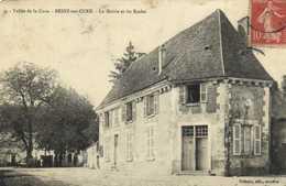 Vallée De La Cure BESSY Sur CURE  La Mairie Et Les Ecoles RV - Other Municipalities