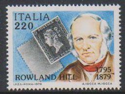 Italy 1979 Rowland Hill 1v ** Mnh (42488E - 1971-80: Nieuw/plakker
