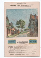 Michelin - Advertising - Diorama - Expose Par  Michelin - Salon De La Locomotion Aerienne 1911 - Not Used - Reclame