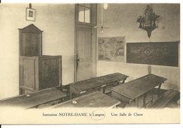 52 - LANGRES / INSTITUTION NOTRE DAME - SALLE DE CLASSE - Langres