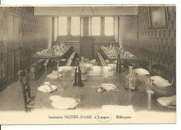 52 - LANGRES / INSTITUTION NOTRE DAME - REFECTOIRE - Langres