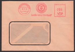 """EHRENFRIEDERSDORF AFS =024= 22.1.53, A. Kybarth & Söhne KG,  """"Lautlos Durch Harttextil! - [6] Oost-Duitsland"""