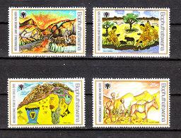 Bophuthatswana  - 1979. Anno Gioventù. Disegni Infantili Di Vita Indigena. Childish Drawings Of Indigenous Life. MNH - Infanzia & Giovinezza