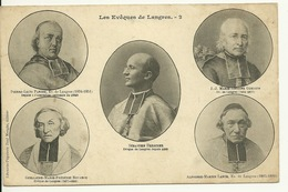 52 - LANGRES / LES EVEQUES DE LANGRES - Langres