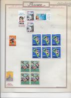 France Vignettes - Collection Vendue Page Page - B/TB - Commemorative Labels