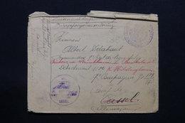 BELGIQUE - Enveloppe De L 'Hôpital Militaire Belge De Dinard ( France ) Pour Le Camp De Prisonniers à Cassel  - L 27926 - Guerre 14-18
