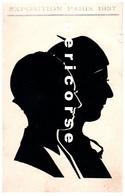 75 Paris  H.Nolden Silhouettiste  Tour Eiffel (exposition 1937) - Tour Eiffel