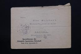 BELGIQUE - Enveloppe De Berlin Pour Le Camp De Prisonniers Belge à Cassel  - L 27927 - Guerre 14-18