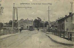 MEURTHE ET MOSELLE  LANEUVEVILLE  Le Pont Du Canal - Other Municipalities