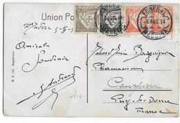 PORTUGAL - 1934 - CARTE De FUNCHAL (MADEIRA) => COURPIERE (PUY DE DOME) - 1910-... République