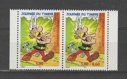 FRANCE / 1999 / Y&T N° 3226A ** (en Fait P 3226A **) : Journée Timbre Astérix Paire Avec/sans Surtaxe - Gomme D'origine - Unused Stamps
