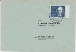 Bund Mi 319 EF A Beethoven Block Bf Bünde Westfalen 1960 R - Briefe U. Dokumente