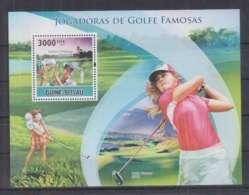 M908. Guine-Bissau - MNH - 2010 - Sport - Golf - Bl - Autres