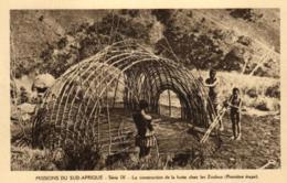 Afrique - Missions Du Sud-Afrique - La Construction De La Hutte Chez Les Zoulous - C 5653 - Afrique Du Sud