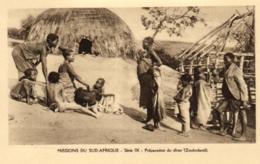 Afrique - Missions Du Sud-Afrique -Preparation Du Diner (Zoulouland) - C 5656 - Afrique Du Sud