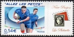 France Personnalisé N° 4032.B ** Ou 117 A Autoadhésif -> Allez Les Petits - Logo Privé - France