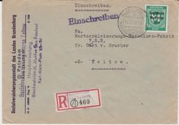 SBZ A All Bes Ziffer Mi 211 EF RBf Blankenfelde 1949 - Sowjetische Zone (SBZ)