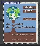 Mexico 1990 Mi 2173 MNH ( ZS1 MXC2173 ) - Protection De L'environnement & Climat