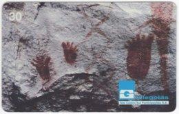 BRASIL G-758 Magnetic Telegoias - Culture, Historic Rock Painting - Used - Brésil