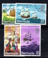 APR639 - BERMUDA 1971, Serie Yvert N. 268/271  Usata  (2380A) . - Bermuda