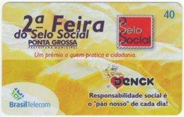BRASIL G-802 Magnetic BrasilTelecom - Used - Brésil