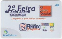 BRASIL G-803 Magnetic BrasilTelecom - Used - Brésil