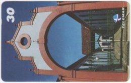 BRASIL H-828 Magnetic Telemar - Architecture, Doorway - Used - Brésil