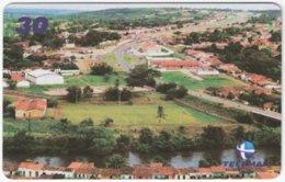 BRASIL H-839 Magnetic Telemar - View, Village - Used - Brésil