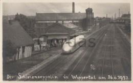 Germany - Wuppertal - 26.06.1937 - Schienenzeppelin - Trains
