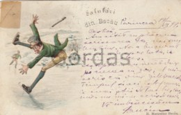 Romania - Salutari Din Bacau - 1899 - Editura Margulies - Litho - Romania