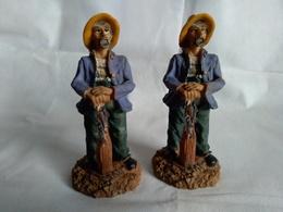2 Statuette De 14.5 Cm - Other Collections