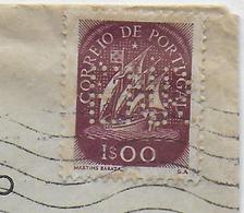 "PORTUGAL - 1951 - PERFORE - PERFIN Sur ENVELOPPE ""EMISSORA NACIONAL DE RADIODIFUSAO"" à LISBOA - 1910-... République"