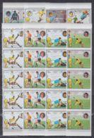 H636. 5x Fujeira - MNH - Sport - Football - Timbres
