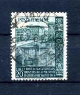 1949 REP. IT. SET USATO - 6. 1946-.. Repubblica
