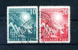 1949 RFT SET USATO - [7] Repubblica Federale