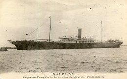 BATEAU PAQUEBOT(HAVRAISE) - Paquebots