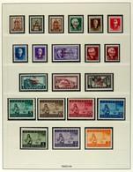 1943, Gebiet In Den Hauptnummern Kpl., Zwei Tadellos Postfrische Satzausgaben, Mi. 580.-, Katalog: 1/21 ** - Albanien