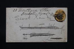 INDE - Entier Postal Pour Le Royaume Uni En 1897 , Oblitération Maritime Au Verso - L 27936 - 1882-1901 Empire