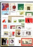 Blocs 25 Bl./KB 1970-1988 DDR ** 50€ Sport Kunst Natur Technik Politik Topics Hb M/s History Sheets Bf GDR Germany - Stamps