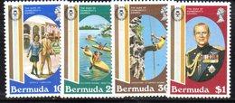 APR646 - BERMUDA 1981 , Serie Yvert N. 405/408  ***  MNH  (2380A) . - Bermuda