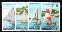 APR649 - BERMUDA 1983 , Serie Yvert N. 427/430  ***  MNH  (2380A) .  Vela - Bermuda