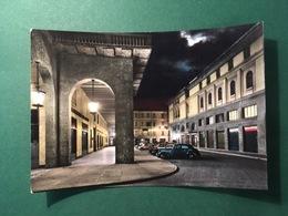 Cartolina Vercelli - Via Vittorio Veneto - Notturno - 1962 - Vercelli