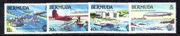 APR650 - BERMUDA 1983 , Serie Yvert N. 431/434  ***  MNH  (2380A) .  Aerei - Bermuda