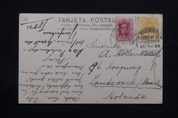 ESPAGNE - Oblitération Maritime Sur Affranchissement Plaisant Sur Carte Postale Des Canaries Pour Les Pays Bas - L 27938 - 1889-1931 Royaume: Alphonse XIII