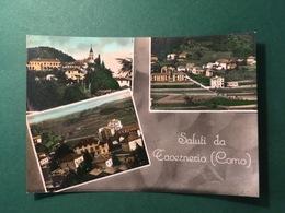 Cartolina Saluti Da Tavernerio - Como - 1958 - Como