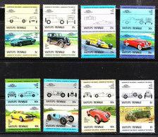 Tuvalu Vaitupu - Auto: Berline E Sportive. Cars: Sedans And Sports.Lotus, Renault, Packard, Chevrolet, Bentley. - Automobili