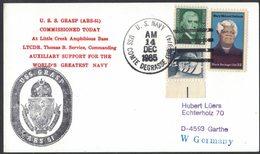 AN93  USA 1985 Cover US Navy / USS Grasp ARS-51 - Stati Uniti
