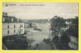 * Boitsfort - Watermaal Bosvoorde (Bruxelles) * (Nels, Edition Papeterie Dero) Maison Communale, Avenue Souverain, Tram - Watermael-Boitsfort - Watermaal-Bosvoorde